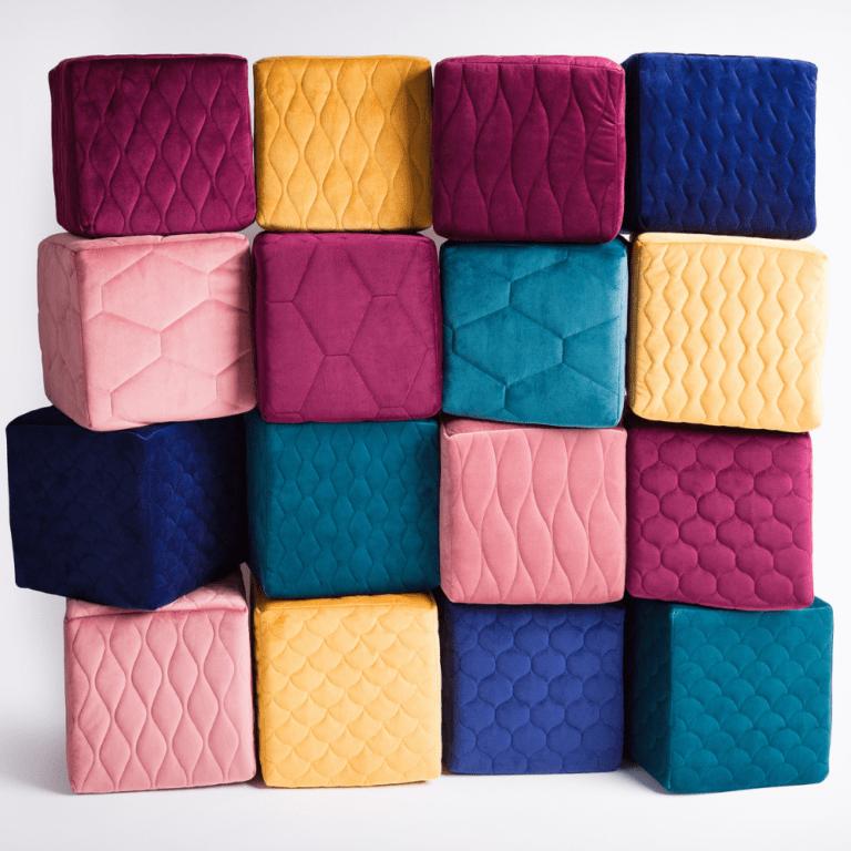 Nowy wymiar tkanin – pikowany Magic Velvet 3D
