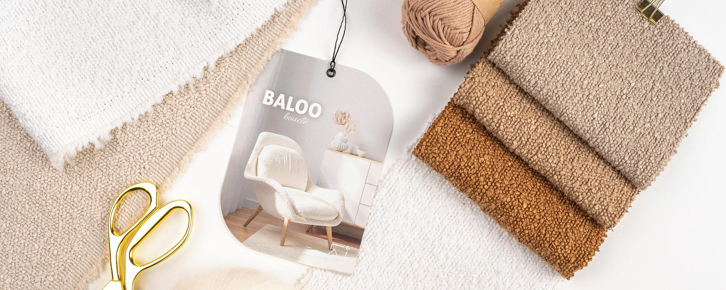 7609NOWOŚĆ – Baloo bouclé